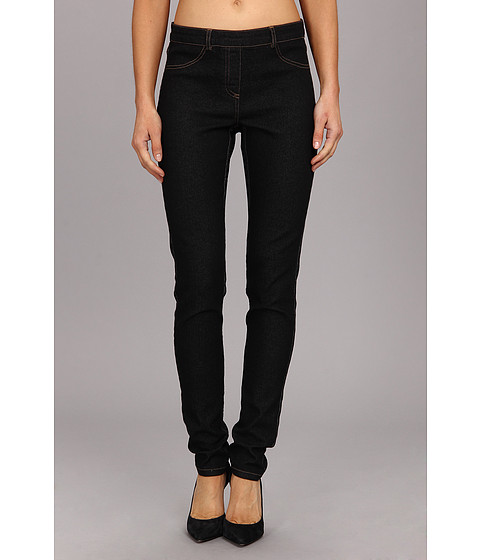 Pantaloni Christin Michaels - Comfort Waist Stretch Denim Jean - Black