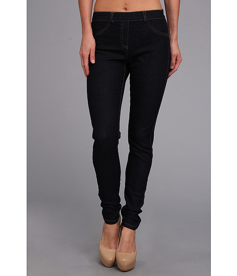 Pantaloni Christin Michaels - Comfort Waist Stretch Denim Jean - Indigo