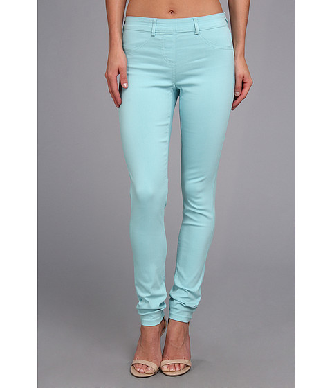 Pantaloni Christin Michaels - Comfort Waist Stretch Solid Jean - Aqua