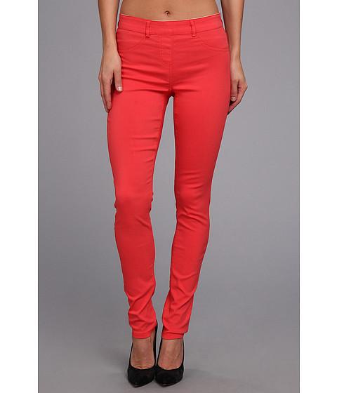 Pantaloni Christin Michaels - Comfort Waist Stretch Solid Jean - Tomato