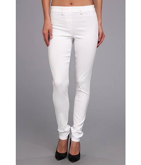 Pantaloni Christin Michaels - Comfort Waist Stretch Solid Jean - White