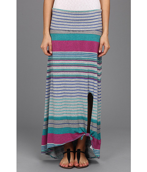 Fuste Roxy - Dance Dance Skirt - Ultraviolet Engineered Stripe