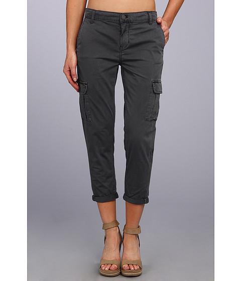 Pantaloni Calvin Klein - Slim Cargo Crop Pant - Dark Charcoal