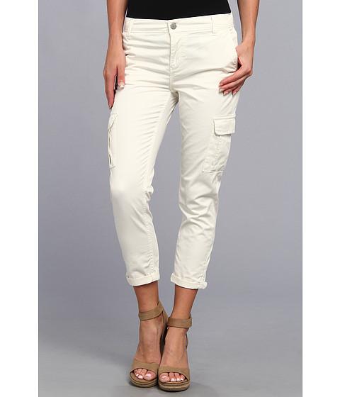 Pantaloni Calvin Klein - Slim Cargo Crop Pant - Vanilla