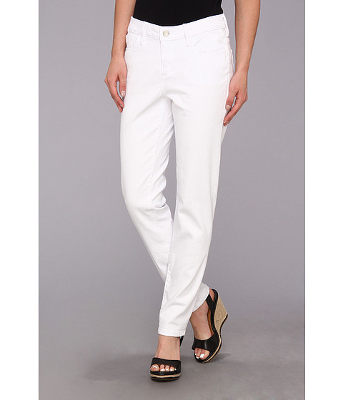 Blugi Christopher Blue - Isabel Ankle in White - White