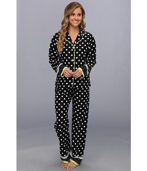 Lenjerie P.J. Salvage - Shine On Dot Pajama Set - Black