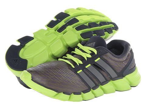 Adidasi Adidas Running - Adipure Crazy Quick - Night Shade/Carbon Metallic/Solar Slime