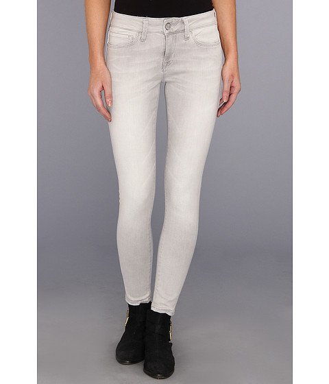 Blugi Mavi Jeans - Alexa Ankle Mid-Rise Skinny in Grey Bleach - Grey Bleach