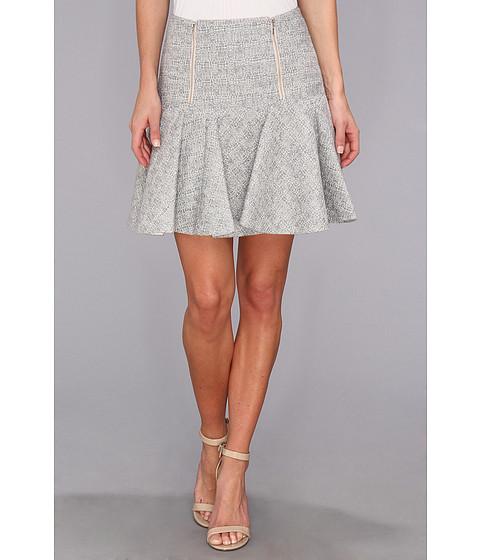 Fuste Rebecca Taylor - Tweed Skirt w/ Zips - Shark