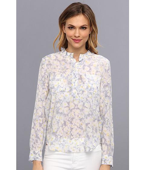 Bluze Rebecca Taylor - L/S Print Pocket Blouse - Pale Combo