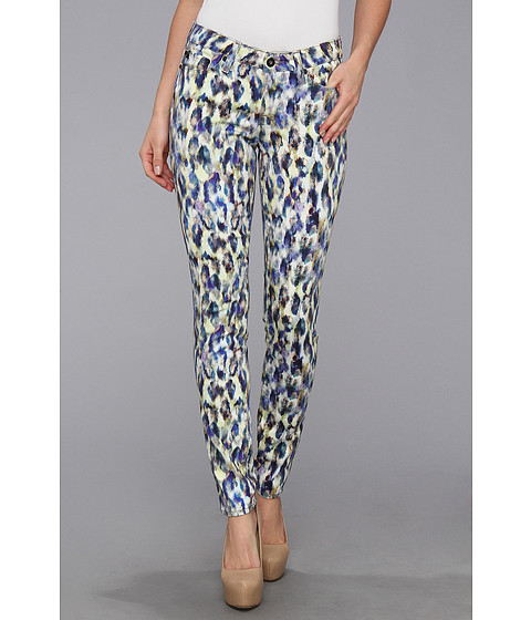 Blugi Big Star - Alex Mid Rise Skinny Jean in Water Color Leopard - Water Color Leopard