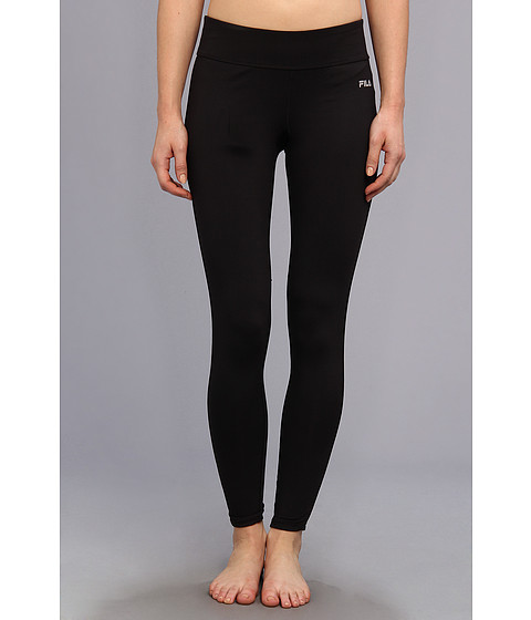 Pantaloni Fila - Side Piped Long Tight - Black/Black