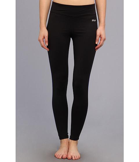 Pantaloni Fila - Side Piped Long Tight - Black/Dazzling Blue
