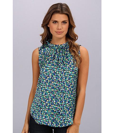 Bluze Nine West - Printed Ruffle Neck Cami - Paradise Multi