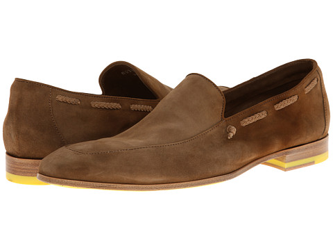 Pantofi Paul Smith - Jasper Suede Slip On - Tobacco