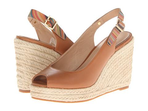 Sandale Paul Smith - Beta Wedge Sandal - Light Tan