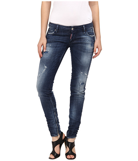 Blugi DSQUARED2 - Skinny Jean - Blue