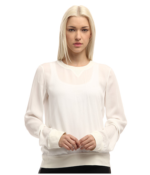 Bluze DSQUARED2 - Sporty Couture Long Sleeves Top - Milk