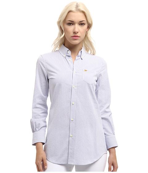 Bluze DSQUARED2 - Boxy Shirt - White/Blue