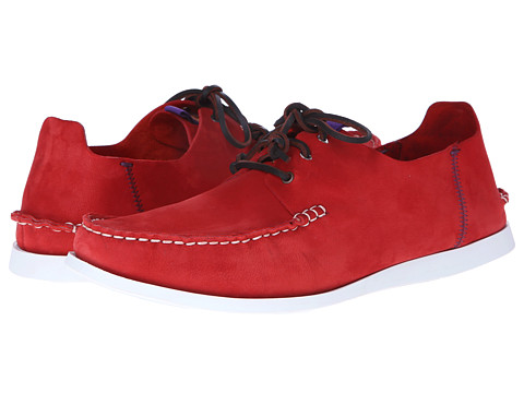 Pantofi Paul Smith - Dagama Boat Shoe - Red