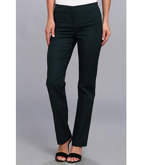 Pantaloni NIC+ZOE - The Silva Perfect Front Zip Pant - Deep Space