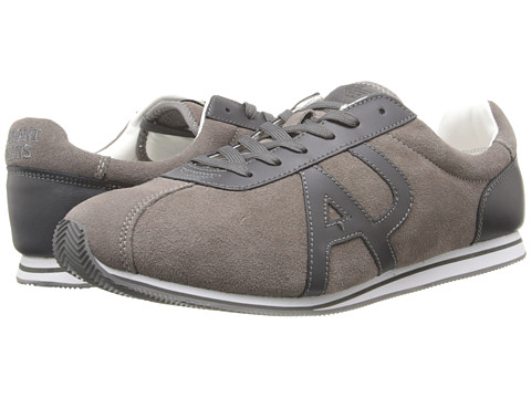 Adidasi Armani Jeans - AJ Logo Retro Trainer - Grey