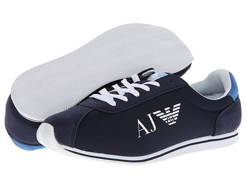 Adidasi Armani Jeans - AJ Logo Trainer - Navy