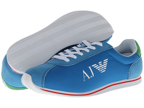 Adidasi Armani Jeans - AJ Logo Trainer - Blue