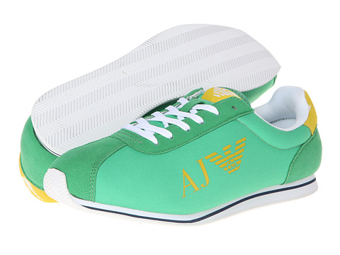 Adidasi Armani Jeans - AJ Logo Trainer - Green
