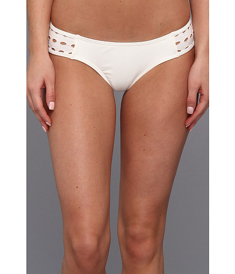 Costume de baie Volcom - Options Open Retro Bottom - White
