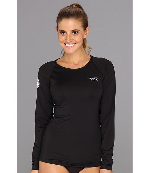 Costume de baie TYR - L/S Swim Shirt - Black