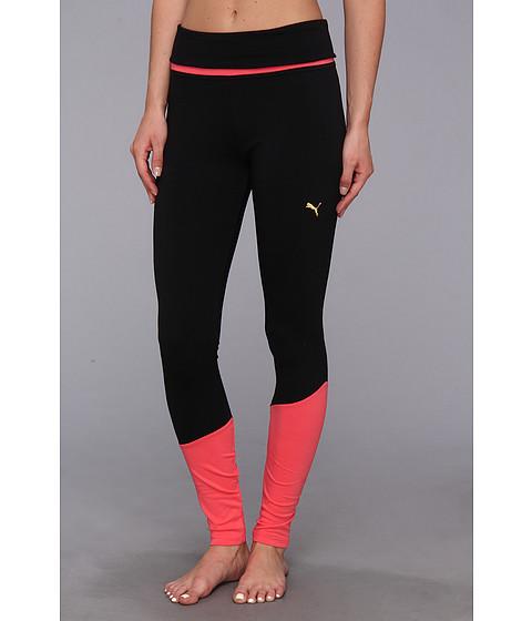 Pantaloni PUMA - Colorblock Legging - Black