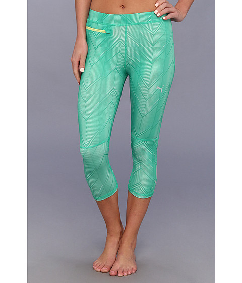 Pantaloni PUMA - PR Progr Graphic 3/4 Tight - Mint