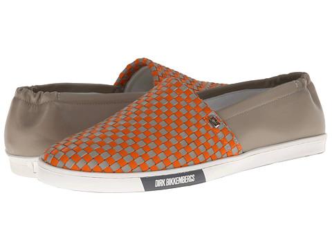 Adidasi Bikkembergs - New Star 106 Slip On Trainer - Orange/Grey