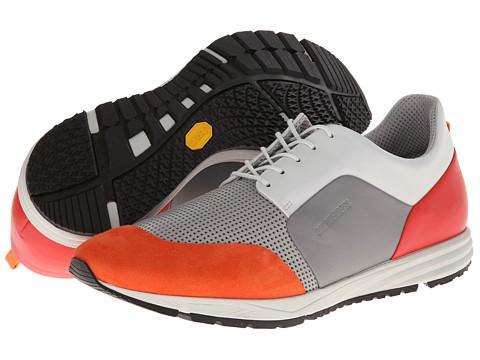 Adidasi Bikkembergs - Shuffle 24 Low Top Trainer - Grey/Orange