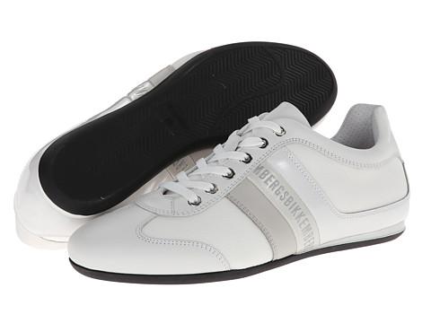 Adidasi Bikkembergs - Springer 012 Low Top Trainer - White