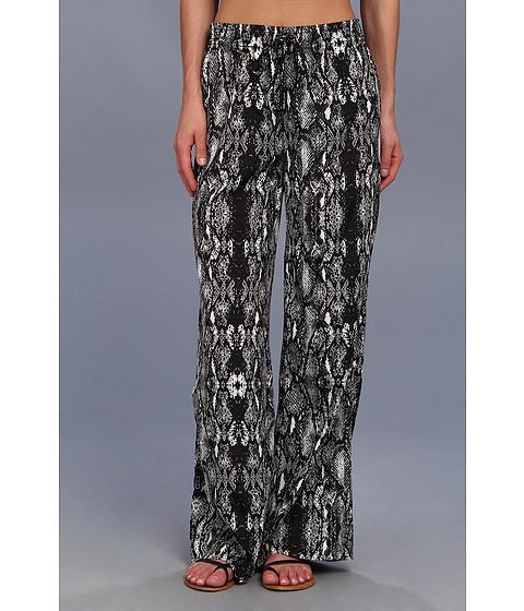 Pantaloni Calvin Klein - Printed Drawstring Pant - Black/White Print