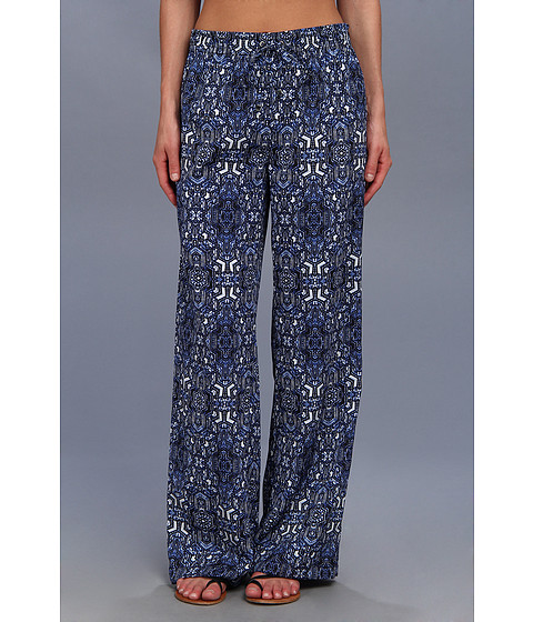 Pantaloni Calvin Klein - Printed Drawstring Pant - Blue/Black
