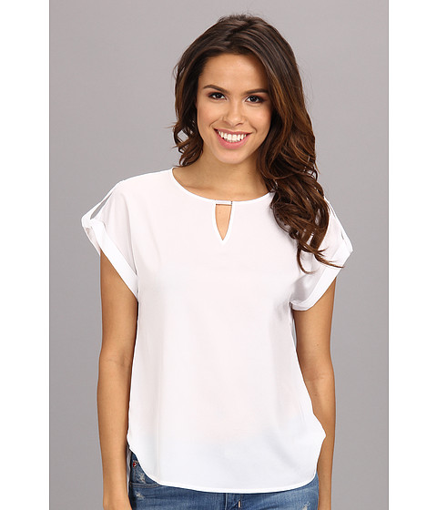 Bluze Calvin Klein - Side Tab Top w/ Hrdwr - White