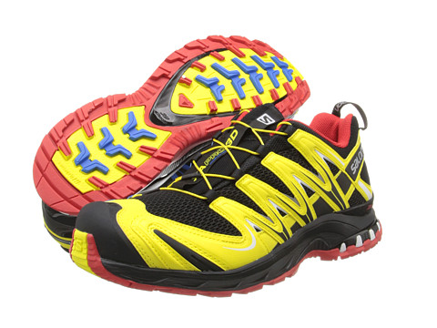 Adidasi Salomon - XA Pro 3D - Black/Canary Yellow/Bright Red