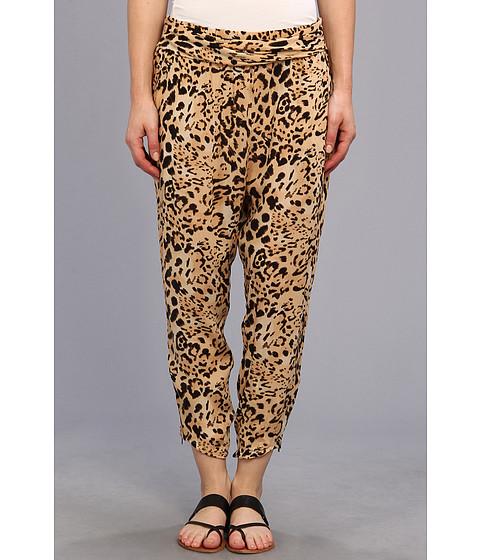 Pantaloni Free People - Cheetah Twisted Harem - Natural Combo