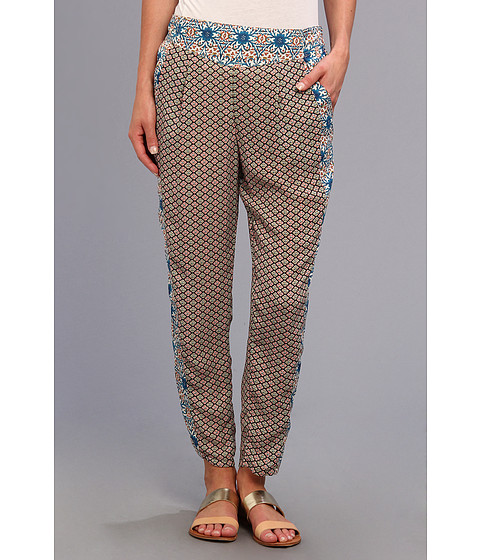 Pantaloni Free People - Mixed Print Easy Pleat Pant - Multi Combo