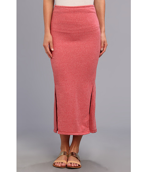 Fuste Free People - Spellbound Skirt - Washed Red
