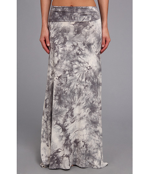 Fuste Culture Phit - Corine Maxi Skirt - Grey Tye Dye
