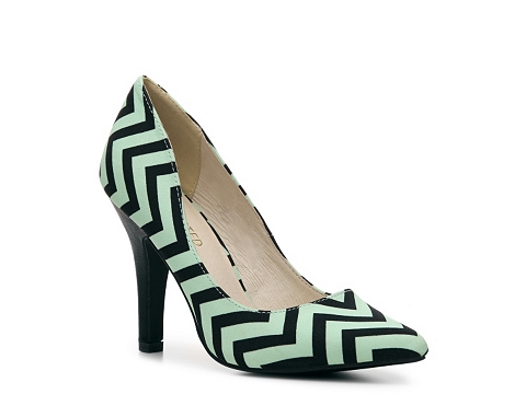 Pantofi Restricted - Jack Pump - Mint/Black