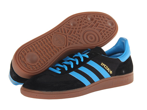 Adidasi Adidas Originals - Spezial - Canvas - Black/Solar Blue/Redwood