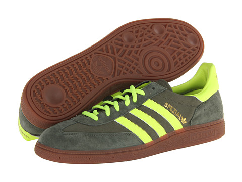 Adidasi Adidas Originals - Spezial - Canvas - Sand Storm/Electricity/Redwood