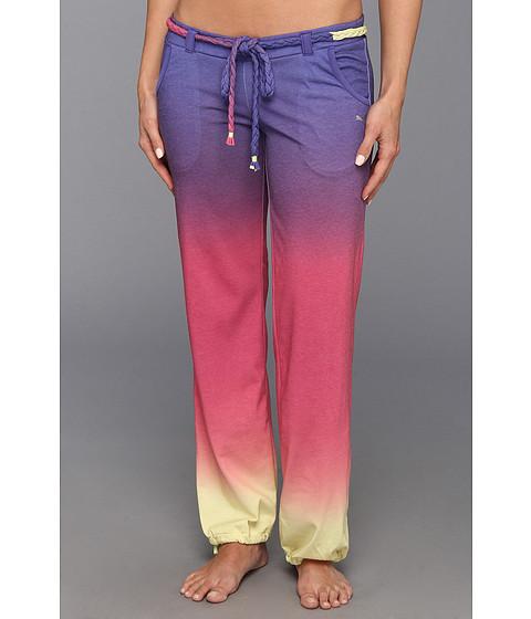 Pantaloni PUMA - Studio Ginga Pant - Sunny Lime/Beetroot Purple/Spectrum Blue/Dip Dye