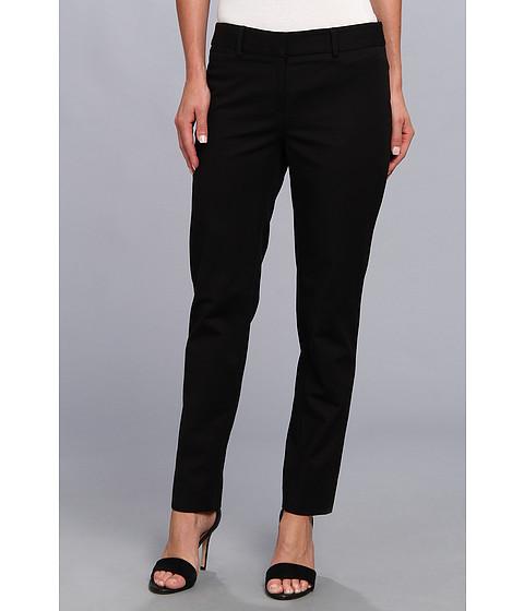 Pantaloni Anne Klein New York - Petite Slim Leg Pant - Black