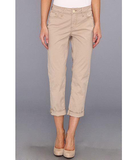 Blugi Christopher Blue - Brooklyn Roll in British Khaki - British Khaki